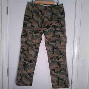 Levis Mens Cargo 1 Camo Pants